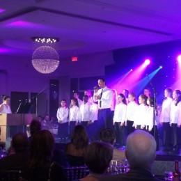 Concert avec Étienne Drapeau Gala de la Fondation Sainte Justine au Cœur du monde